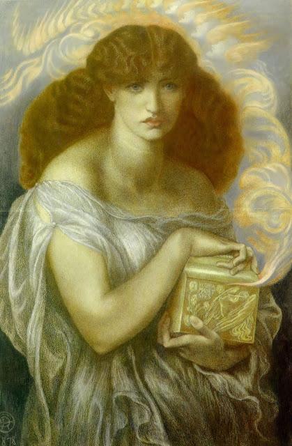 Dante Gabriel Rossetti Pandora